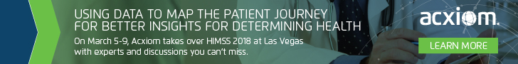 On March 5-9, Acxiom takes over HIMSS18 at Las Vegas with experts and discussions you can't miss.