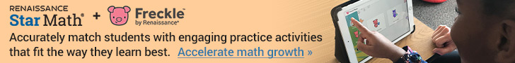 Star Math + Freckle: Match students with practice activities that fit the way they learn best.