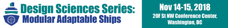 Register today for the 2018 Design Sciences Series Workshop on Modular Adaptable Ships