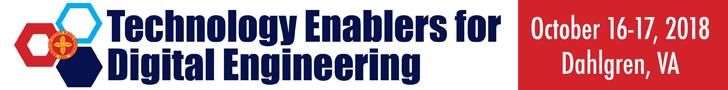 Attend Technology Enablers for Digital Engineering, October 16-17 in Dahlgren, VA.
