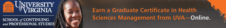 Earn a Certificate in Health Sciences Management from UVA—Online.
