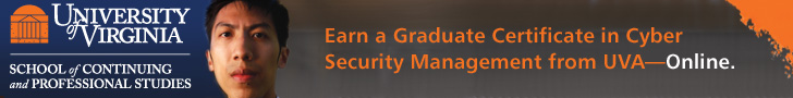 Earn a Grad Certificate in Cyber Security Management from UVA—Online.