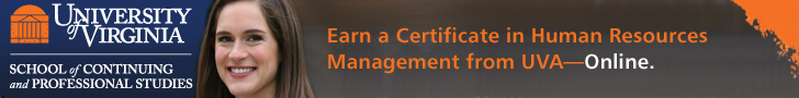 Earn a Certificate in Human Resources from UVA—Online.