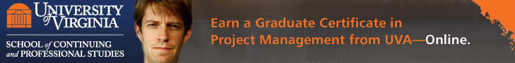 Earn a Certificate in Project Management from UVA—Online.