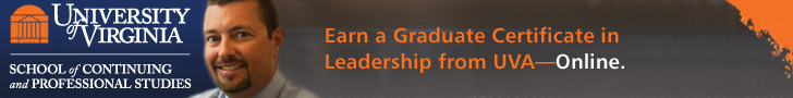 Earn a Certificate in Leadership from UVA—Online.