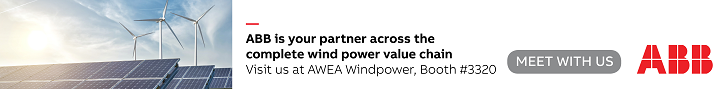ABB is your partner across the complete wind power value chain. Schedule a meeting with us at AWEA