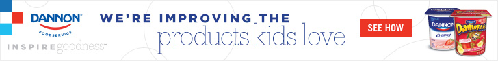 We're improving the products kids love – Dannon Foodservice